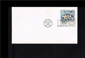 1964 - VN/UNO New York FDC Prepaid cover - Postal stationery - Transport - Ai...