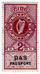 (I.B) Ireland Revenue : Passport 2/-