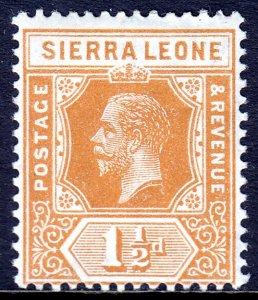 Sierra Leone - Scott #105 - MH - SCV $2.25