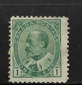 CANADA, 89, MINT HINGED, KING EDWARD VII