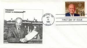 1990 Dwight Eisenhower Centenary (Scott 2513)  DeSpain #10