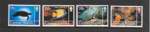 FISH - CAYMAN ISLANDS #802-5   MNH