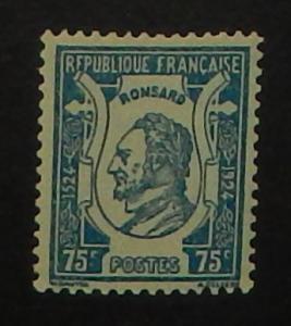 France 219. 1924 Pierre de Ronsard, poet