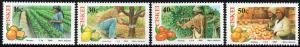 Ciskei - 1988 Citrus Farming Set MNH** SG 137-140