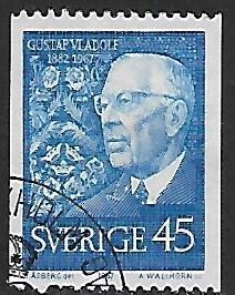 Sweden # 765 - King Gustav Adolf - used   {GR31}