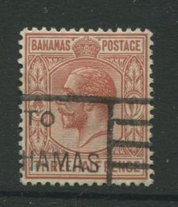 Bahamas - Scott 73 - KGV Definitive - 1934 - Used - Single 1.1/2p Stamp