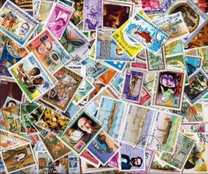 Africa Stamps Sensational Collection of 500 Different Stamps