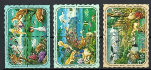 United Nations 1991 European Commision For Europe Sc 584-587  Set MNH