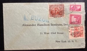 1946 Medellin Colombia Commercial Cover To New York USA