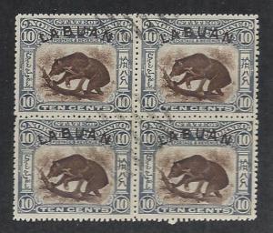LABUAN SC# 98 B/4 FVF/U 1901