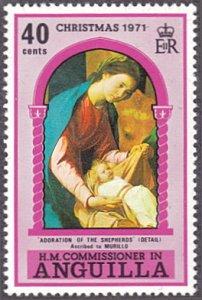 Anguilla # 134 mnh ~ 40¢ Christmas - Virgin and Child