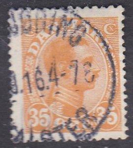 Denmark Sc #114 Used; Mi #72