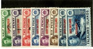 FALKLAND ISLAND SO. SHETLANDS 5L1-8 MLH SCV $24.75 BIN $10.00.