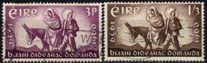 Ireland #173-4  F-VF Used CV $2.75 (X4151)