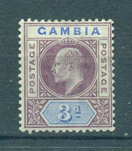 Gambia sc# 32 mh cat value $23.00