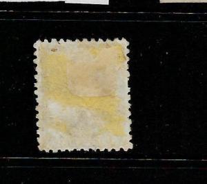 SAMOA  1886-00  1d    PALM TREES  FU  P12x11 1/2  SG 28