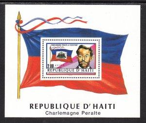 Haiti 847a Flag Souvenir Sheet MNH VF