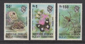 British Indian Ocean Territory 54-6 Wildlife mnh