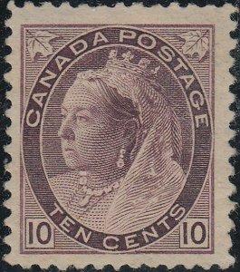 CANADA 83 FVF MH (42820)