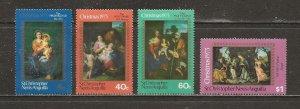 Saint Kitts-Nevis Scott catalog # 276-279 Mint NH