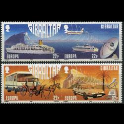 GIBRALTAR 1988 - Scott# 525a-7a Europa Set of 4 NH