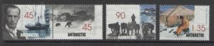 AUSTRALIAN ANTARCTIC TERR SG126/9 1999 MAWSONS HUTS MNH