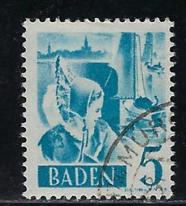 Germany - under French occupation Scott # 5N30, used