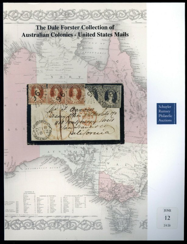 Auction Catalog: Schuyler Rumsey Sale 93 - Dale Forster Collection of Australia