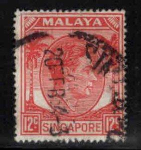Singapore Scott 10 Used perf 18 stamp