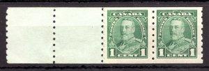#228ii (narrow 1 error) - Canada - 1935 - 1c  - MNH - VF - superfleas - cv$137