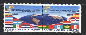 Bolivia. 2003. 1568-69. Heads of Government Conference. MNH.