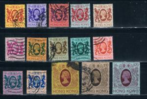 Hong Kong 388-402 Used (H0008)