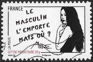 France 3982 Used - Art of Miss.Tic (Radhia de Ruiter) - Je ne me suis...