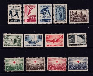 Finland x 3 MH sets from 1930.s