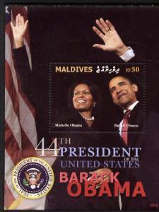 Maldive Islands 2009 Inauguration of Pres Barack Obama pe...