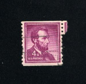 USA #1058  4  used 1954-1973 PD .08