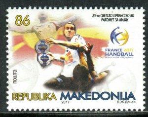233 - MACEDONIA 2017 - THE 25TH WORLD CHAMPIONSHIP IN MEN`S HANDBALL - MNH Set