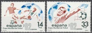 Spain #2293-4 MNH VF (V3169)