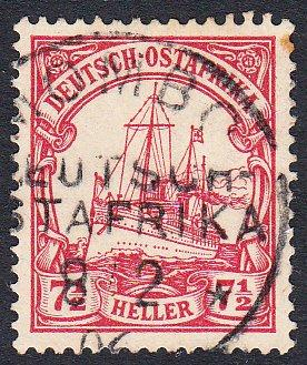German East Africa 24 Used CV $1.60
