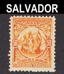 El Salvador Scott 187 wtmk 117 F+ mint OG H reprint.