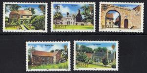 Jersey  1986  MNH  National Trust  complete