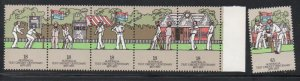 Australia Sc 661-6 1977 Test Cricket Centenary  stamp set mint NH