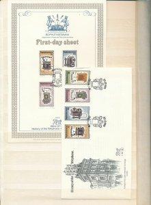 S.Africa Bophuthatswana Telehones MNH(68+Covers Cardsx8(W1675