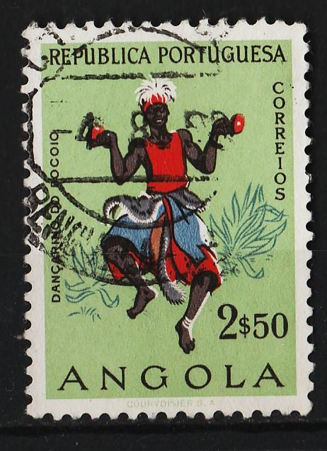 Angola 1957 Native Costumes2$50 (1/12) USED