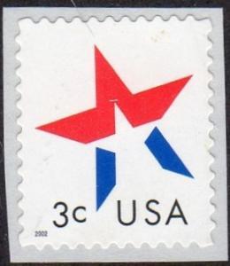 United States 3613 - Mint-NH - 3c Star (2002)