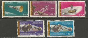 Paraguay MNH 978-82 Space