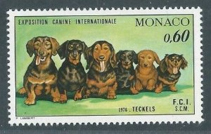 1976 Monaco 1219 Dogs 5,00 €