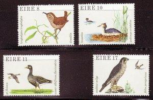 IRELAND SC# 449-452 BIRDS  -MNH
