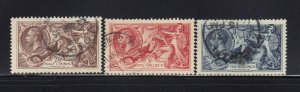 GB Scott # 222 - 224 Set XF used neat cancels nice color cv $ 150 ! see pic !
