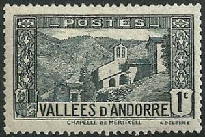 French Andorra - 23  - MH-HR  - SCV-0.35